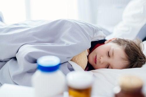 Uso de probióticos en niños.