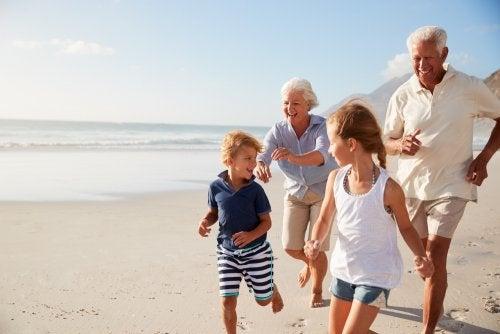 El papel de los abuelos.