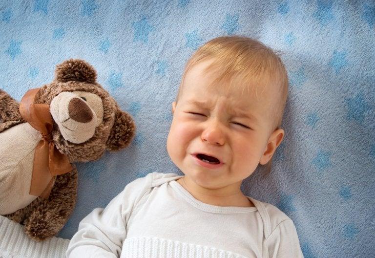 El estrés en bebés