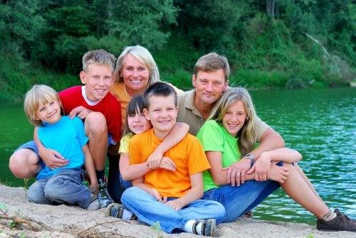 Los beneficios de las familias numerosas