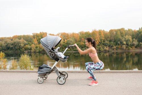 Hacer ejercicio con tu bebé
