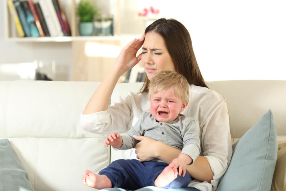 El estrés en bebés.