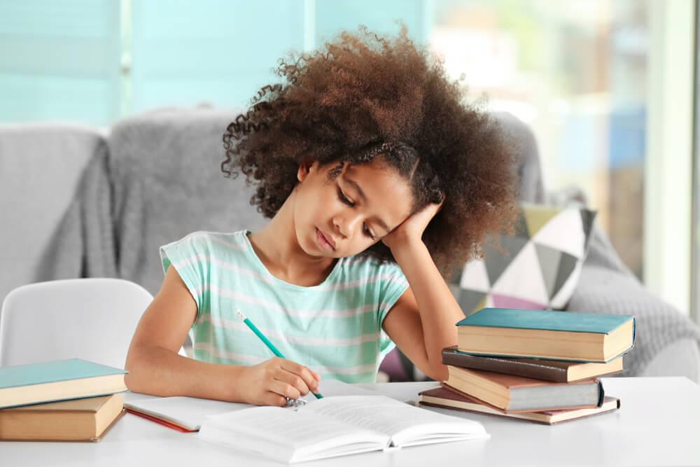 Los deberes de los niños en Primaria