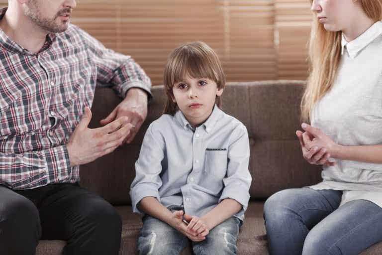 La representación legal de los hijos