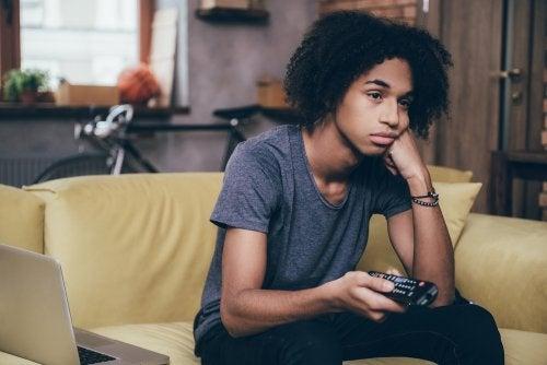 El aburrimiento en la adolescencia