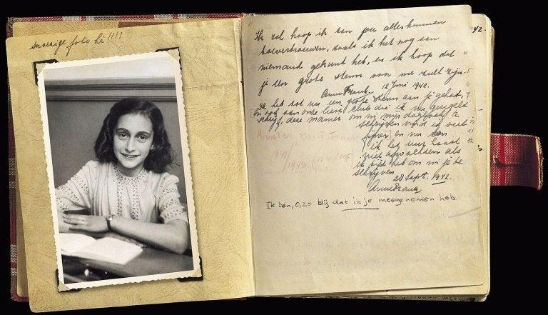 El diario de Ana Frank, un clásico obligatorio para adolescentes