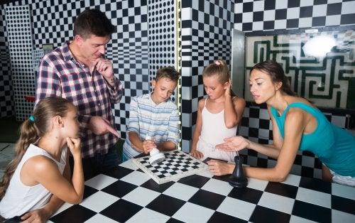 Beneficios de los escape rooms para niños.