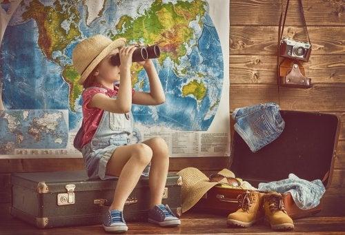 Viajar como temática de los libros infantiles