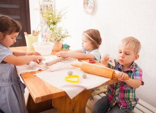 Importancia de la Vida Práctica en la pedagogía Montessori.