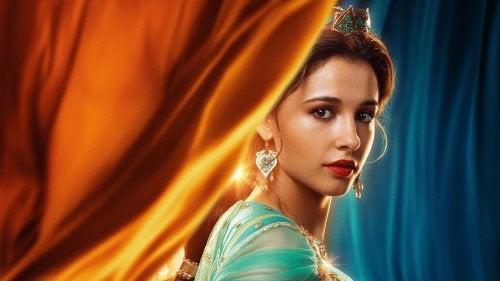 La figura de Jasmín en la nueva película de Aladdin