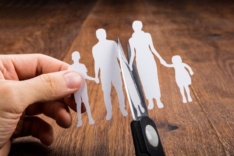 Tipos de separación de los padres y efectos sobre los hijos