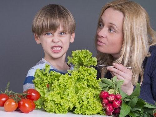 A mi hijo no le gustan las verduras, ¿qué hago?