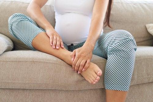 Edema en el embarazo