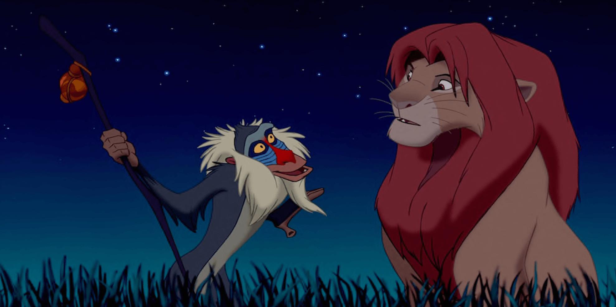 Lecciones de El Rey León.