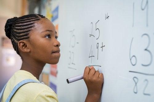 La inteligencia matemática en los niños
