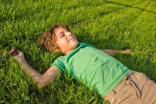 La importancia de la relajación infantil