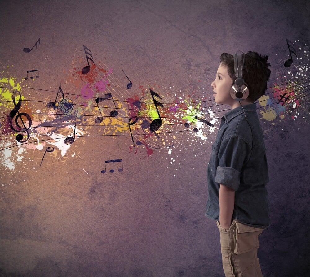 La música influye en la creatividad de los niños
