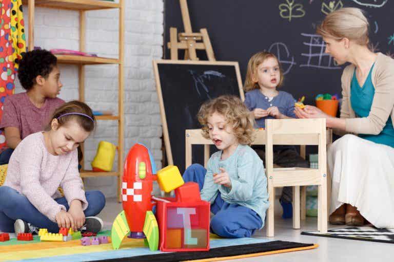 El juego como eje metodológico en la etapa de infantil