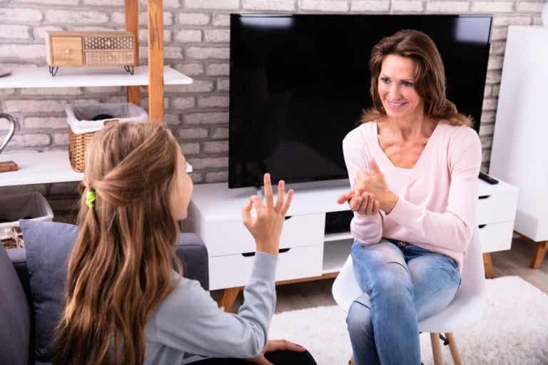Sistemas de comunicación para niños con sordera