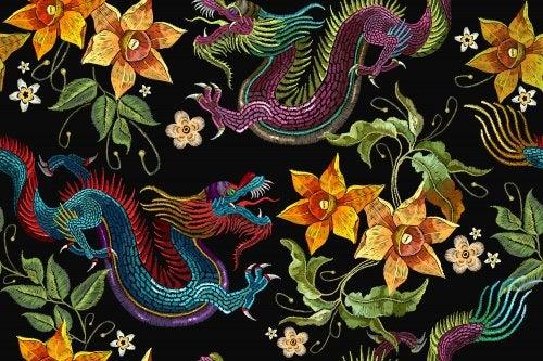 Dragones como protagonistas de los cuentos