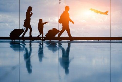 Normativa para los vuelos con niños