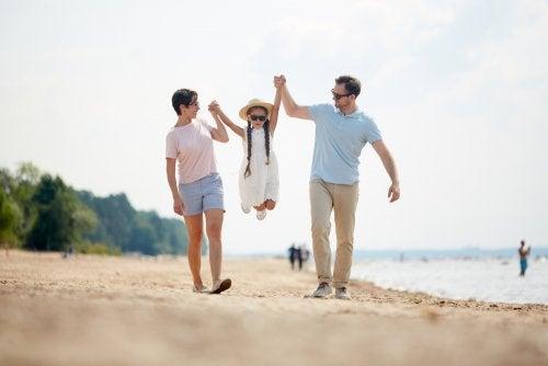 Los niños son más felices en vacaciones según la ciencia.