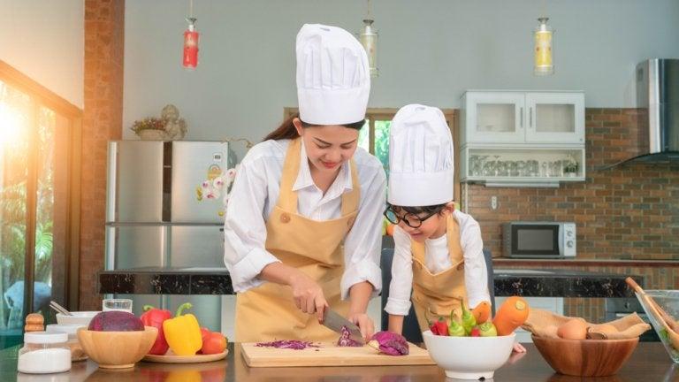 ¿Por qué es bueno que los niños aprendan a cocinar?
