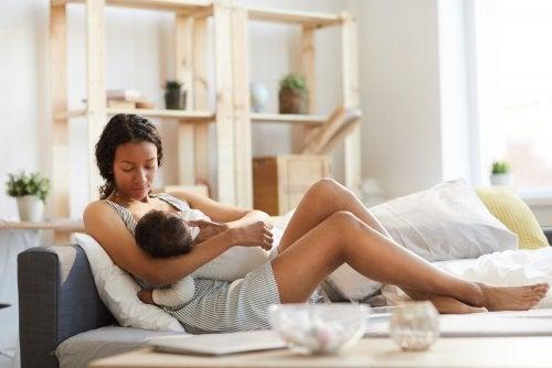 Beneficios psicológicos de la lactancia materna