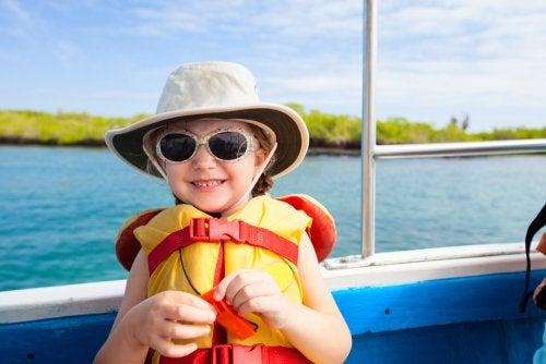 Normativa para navegar con niños