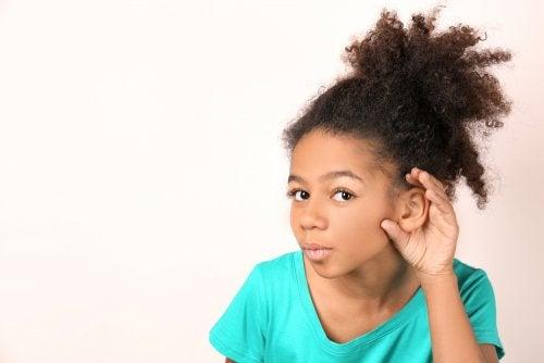 Clasificación de la pérdida auditiva en niños