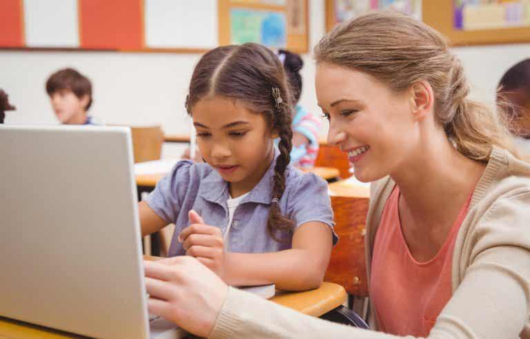 El rincón del ordenador en el aula
