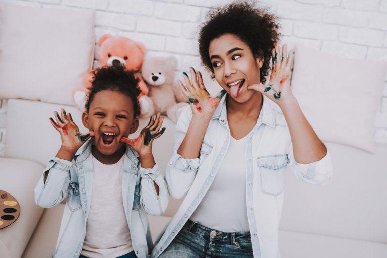 El papel de la cuidadora para los niños