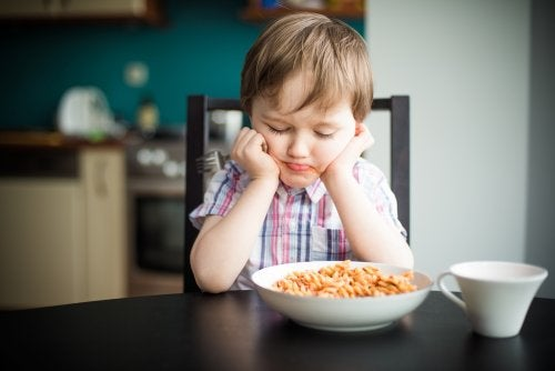 Problemas de alimentación en niños pequeños