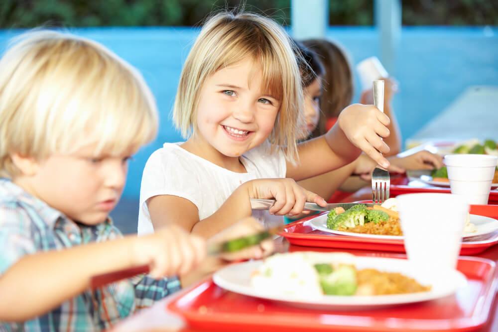 Alimentación en comedores escolares
