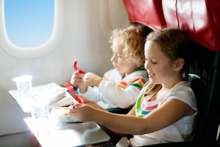 De vacaciones: legalidad de los vuelos con niños