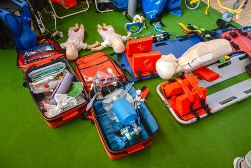 RCP en bebés.