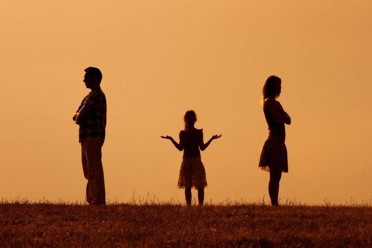 Relaciones familiares tras una separación