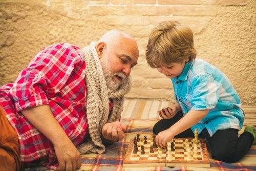 Ejercer como abuelo debe ser una elección, no una obligación