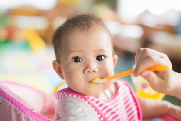 El desarrollo de los sentidos en los bebés