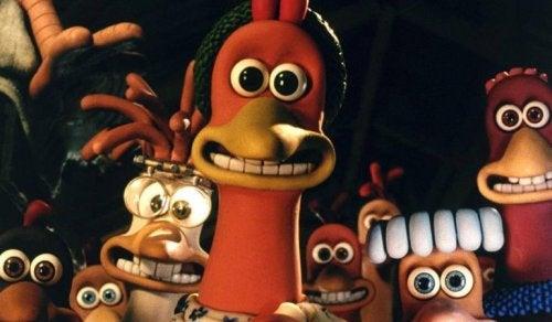 Chicken run, una de las películas infantiles de Dreamworks.