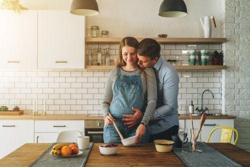 Mitos de alimentación en el embarazo