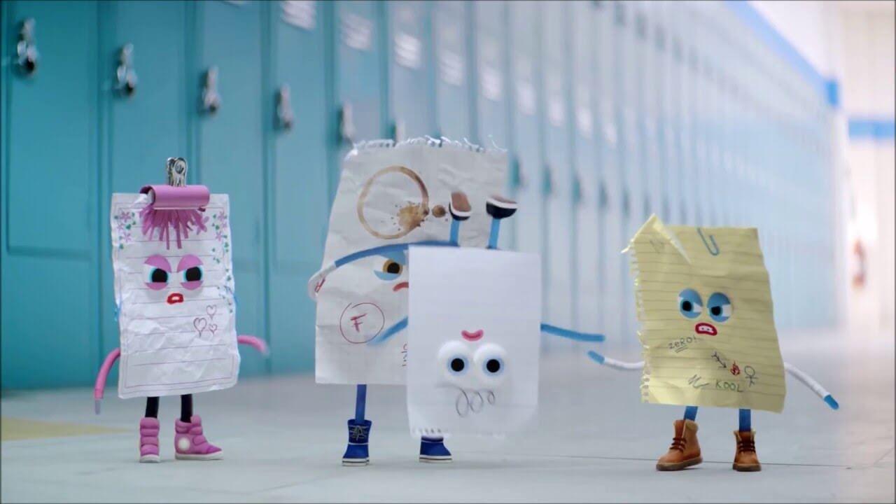 Imagen del corto Piedra, papel o tijera para prevenir el bullying.