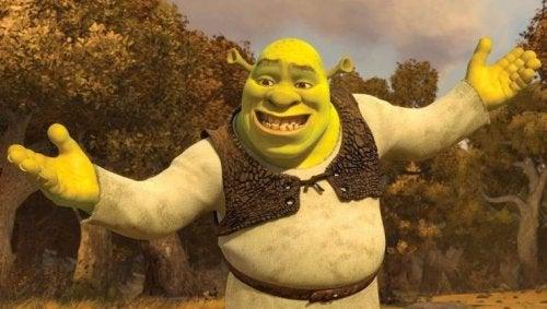 Shrek, protagonista de una de las películas más conocidas de Dreamworks.