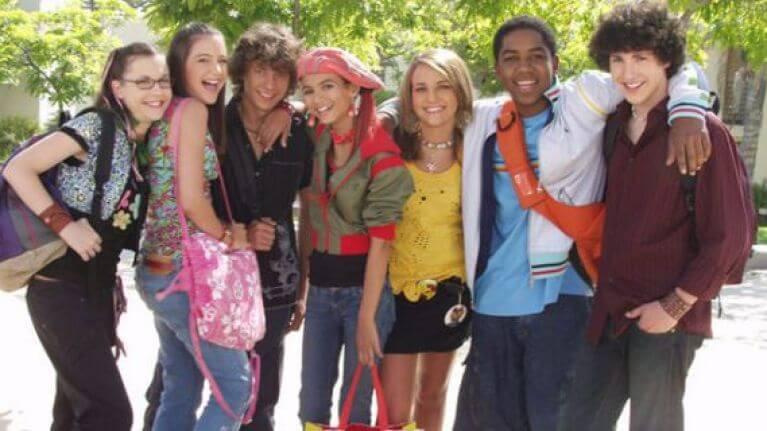 Series juveniles de los 2000