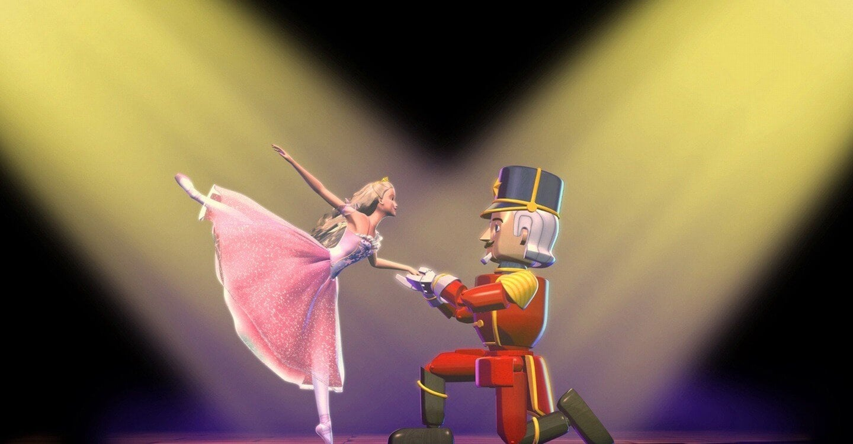 Barbie y el Cascanueces, una de las películas infantiles basada en juguetes.