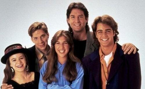 Blossom, serie juvenil de los 90.