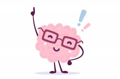 Cerebro en la teoría de la carga cognitiva.
