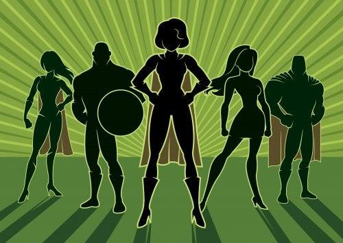 Superheroes protagonistas de libros infantiles.