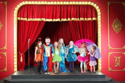 Disfraces y teatro infantil