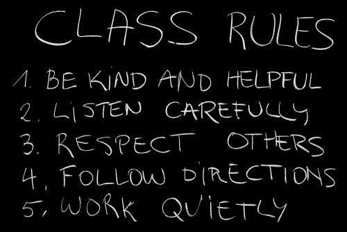 Cómo crear normas de clase y cómo reforzarlas